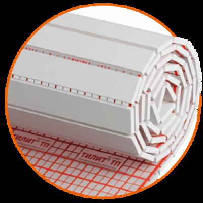 Мат теплоизоляционный Тилит ТП толщ.25, шир.1000, дл.5м