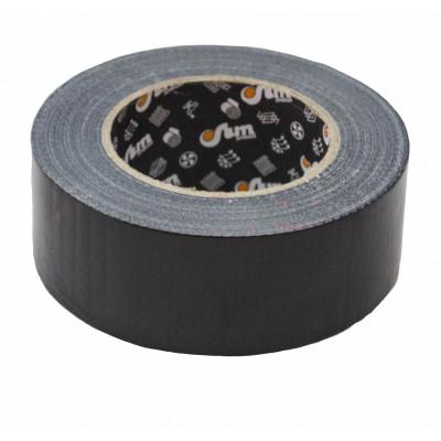 Лента полиэтиленовая клеевая армированная Тилит черная шир. 48 мм, дл.50 м