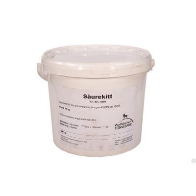 Кислотостойкая масса для швов для соединения керамических элементов
