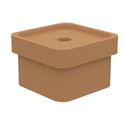 160-160 Основание керамическое с отводом конденсата KLQ-SO