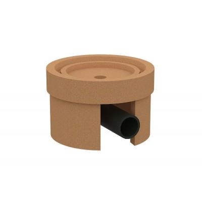 Основание керамическое с отводом конденсата ø 140-160 KLR-SO