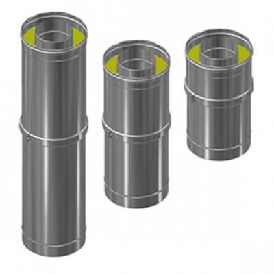Труба-сэндвич компенсатор фикс 290-380 мм