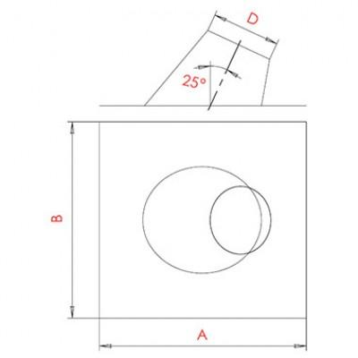 Разделка крышная 5-20°