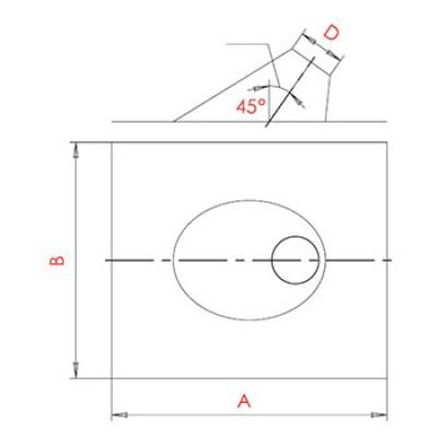Разделка крышная 20-45°
