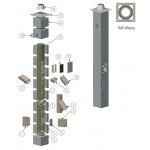 Дымоходная система 140мм Offen KS  6 метров