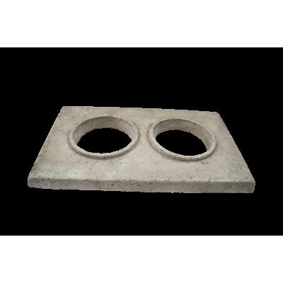 Крышка на блок 390x550 под отделку  490х650