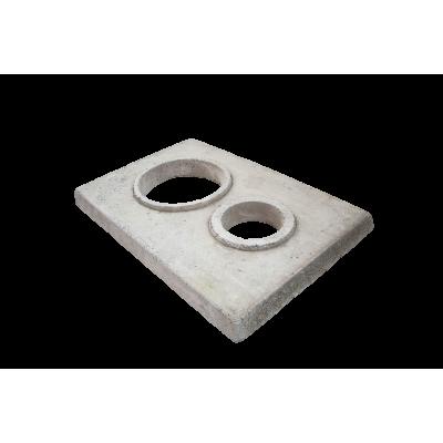 Крышка на блок 350x500 под отделку 450х600