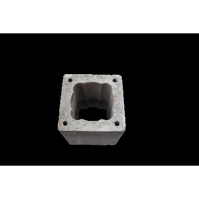 Блок дымоходный 350х350х250 d140-160