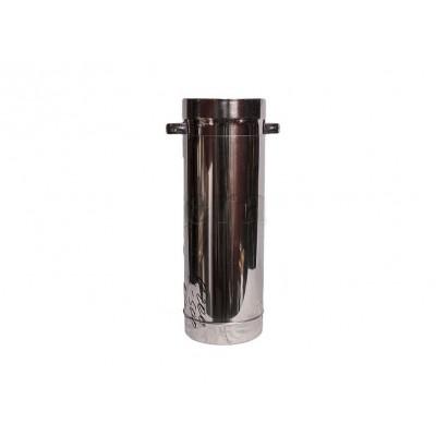 Телескопические элементы из нержавеющей стали L=450-750 мм, S=1 мм