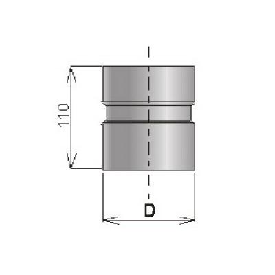 Муфты из нержавеющей стали S=1 мм