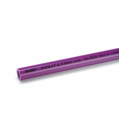 Отоп. труба RAUTITAN pink 16х2,2 мм, бухта 120 м, 1 метр