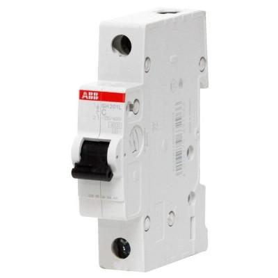 Силовой автоматический выключатель ABB 1-полюсный SH201L С25А 1 шт