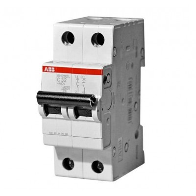 Автоматический выключатель 2-полюсный SH202L С40А 1 шт