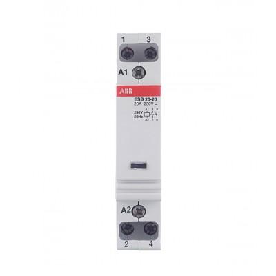 ABB Модульный контактор ESB-20-20 (20А АС1) 220В АС