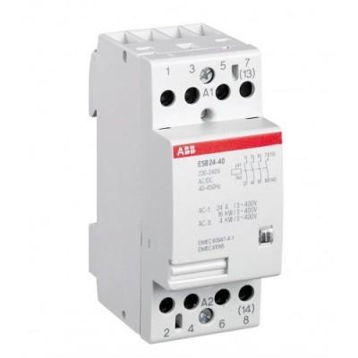 ABB Модульный контактор ESB-24-40 (24А АС1) 220В АС DC