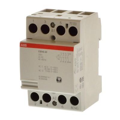 ABB Модульный контактор ESB-40-40 (40А АС1) 220В АС DC