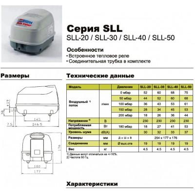 Компрессор SECOH SLL-40