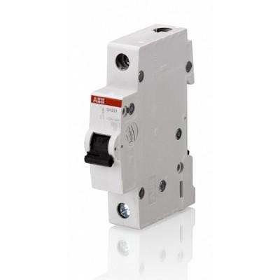 Силовой автоматический выключатель ABB 1-полюсный SH201L С10А 1 шт