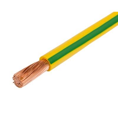 Провод установочный ПУГВ 1-6 желто-зеленый 200 м