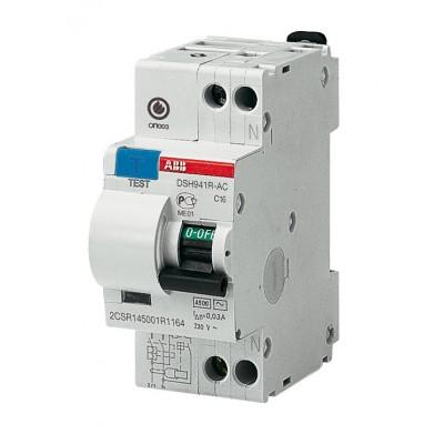 ABB Дифференциальный автомат DSH941R C16 30мА тип АС 1 шт