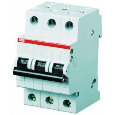 ABB Автоматический выключатель 3-полюсный S203 C50А 1 шт