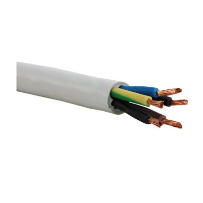 Провод гибкий ПВС 5*6,0 ГОСТ круглый - 0,66 100 м