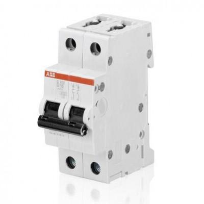 ABB Автоматический выключатель 2-полюсный S202 C50А 1 шт